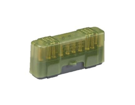 Plano Synergy .22-50/.22-250/.250 Savage/.30-30 Win/.32 Win 20 Round Flip-Top Small Ammo Case w/ Slip Cover, Green/Gray - 122820