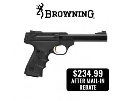 Browning Buck Mark Standard URX .22LR Pistol, Matte Black - 051497490