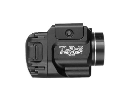 Streamlight TLR-8 Rail Mounted 500 Lumen Tactial Light w/ Red Laser, Black - 69410