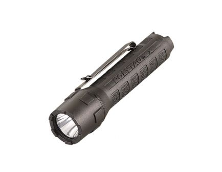 Streamlight PolyTac X 600 Lumen Tactical Light w/ CR123A Batteries, Black - 88600