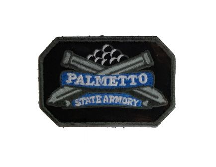 Palmetto State Armory Black and Blue Morale Patch - PSAPATCHBLK