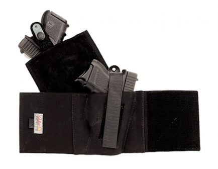 Galco COP Ankle Band Medium Right Hand Concealable Holster, Black - CAB2M
