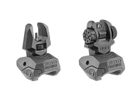 FAB Defense AR-15 Upper Receiver Front & Rear Back Up Sights