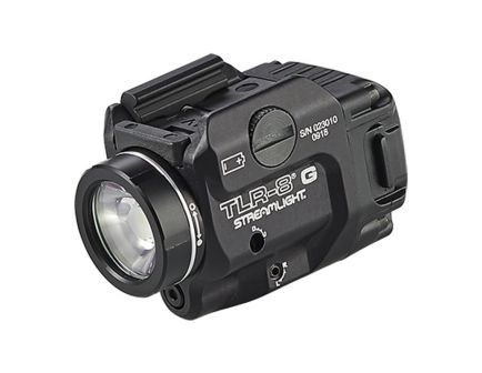 Streamlight TLR-8G Tactical Light Rail Mount with Green Laser- 69430