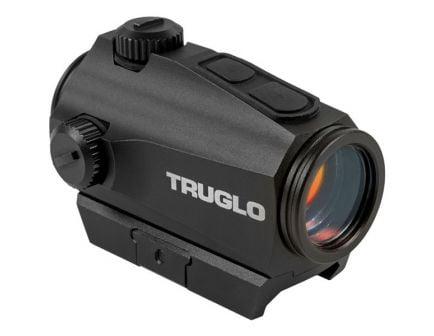 TruGlo Ignite 22mm 2 MOA Red Dot Sight, Black - TG8322BN