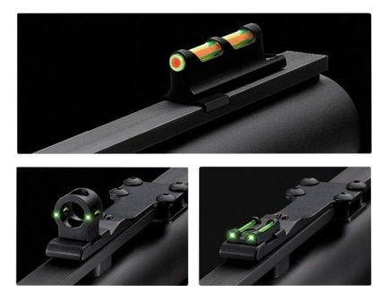 TruGlo Tru-Bead Turkey Fiber Optic Sight Set w/ Interchangeable Rear Sights -TG950X