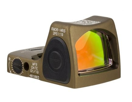 Trijicon RMR Type 2 Adjustable LED Sight, Hard Anodized Coyote Brown - RM06-C-700780