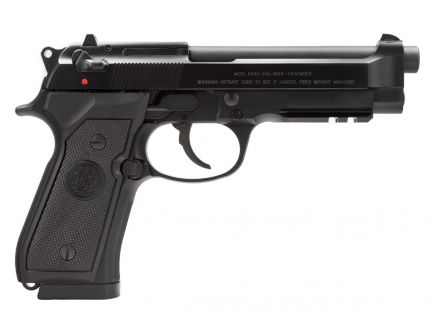 Beretta 92A1 10 Round 9mm Pistol, Black