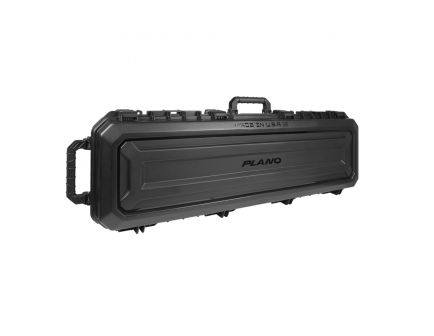"Plano Synergy All Weather Rifle/Shotgun Case w/Easy Glide Wheels, 52"", Black - PLA11852"