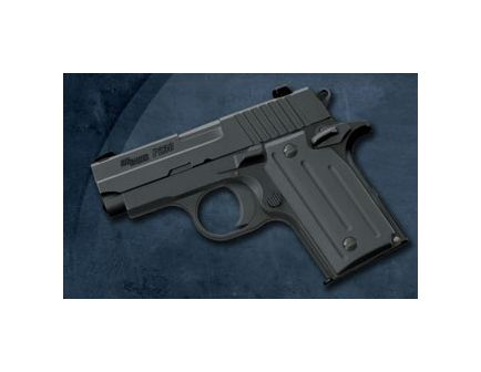Sig Sauer P238 6rd Black w/ Laser SP