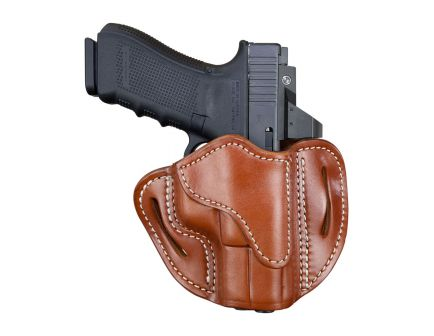 1791 Gunleather Glock 17 Optic Ready RH OWB Holster, Classic Leather