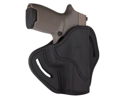 1791 Gunleather Optic Ready RH OWB Open Top Holster Size 2.4S | Black