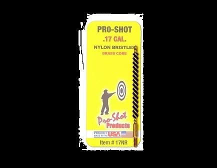 Pro-Shot .17 Cal. Nylon Bristle Rifle Bore Brush  17NR