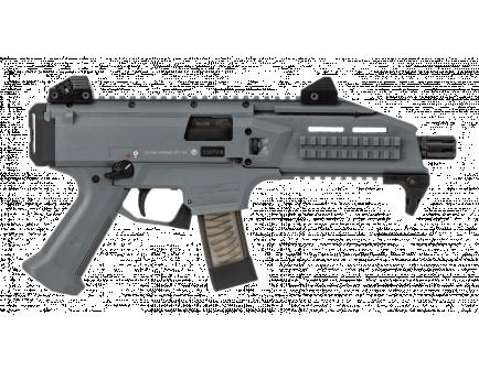 CZ Scorpion EVO 3 S1 Pistol, 9mm, Battleship Grey - 91356