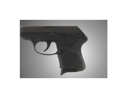 Hogue Handall Slip-On Grip Sleeve for Ruger LCP with Crimson Trace Button Black Rubber 18110