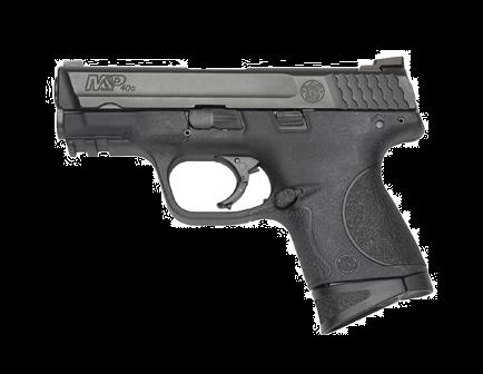 "Smith & Wesson M&P40C .40 S&W 3.5"" Barrel Black Polymer Frame 109303"