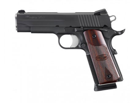 Sig Sauer 1911 Carry .45 ACP Pistol With Rosewood Grips & LoPro Night Sights - 1911FCA-45-BSS