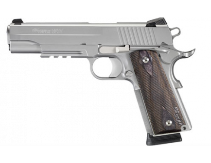 Sig Sauer 1911 .45 ACP Stainless Finish with Blackwood Grips 1911R-45-SSS