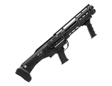 Standard MFG 12 Gauge Pump-Action Shotgun, Black - DP-12