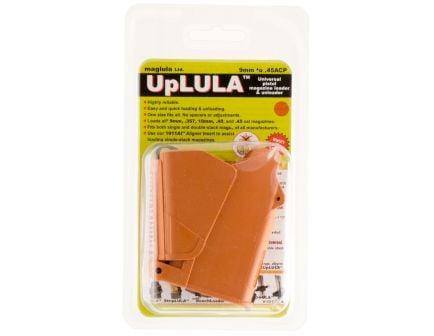 Maglula UpLULA 9mm to .45 ACP Universal Pistol Magazine Loader, Brown/Orange - UP60BO