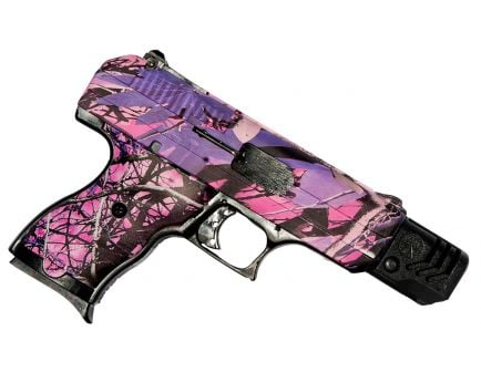 Hi-Point 380 ACP 8+1 Round Semi Auto Compensated Handgun, Pink Camouflage - CF380CPI