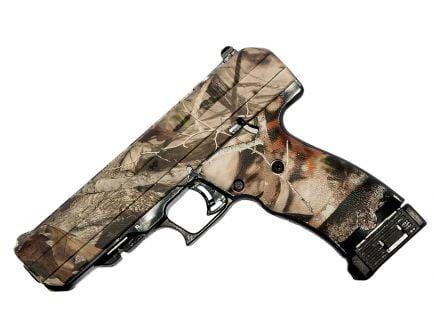 Hi-Point 45 ACP 9+1 Round Semi Auto Striker Fire Handgun, Woodland Style Camouflage - 34510WC
