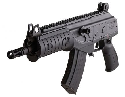 IWI Galil ACE 7.62x39mm 30 Round Semi Auto Closed Rotating Bolt Long Stroke Gas Operated Pistol, Black - GAP39II