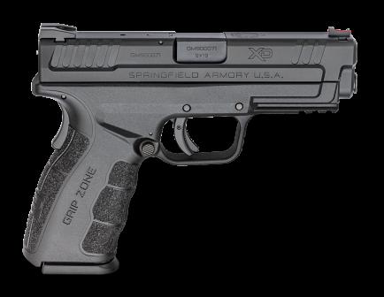 "Springfield Armory XD MOD.2 4"" 9mm Pistol, Black   – XDG9101HC"