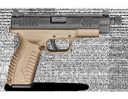 """Springfield Armory Pistol XDM 9mm FDE Threaded Barrel 4.5"""""""