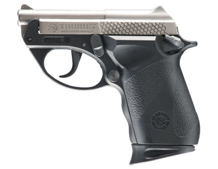 Taurus Pistol 25 Polymer SS .25acp Dsiplay Model
