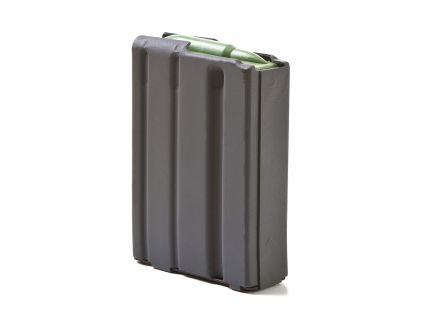 ASC Magazine: AR-15: 223/5.56mm 10rd Capacity Black Marlube Aluminum Green Follower - 10-223-AL-BM-GR-ASC