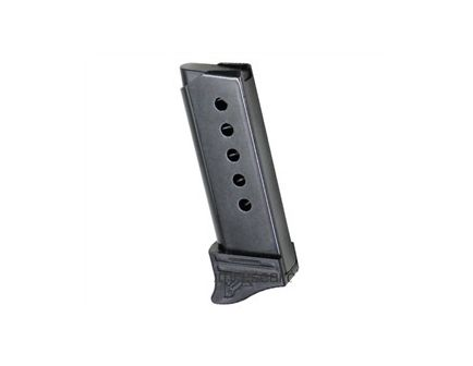 Magnum Research Magazine: Micro Eagle: 380 Auto/ACP: 6rd w/Ext: Black - MAG380E