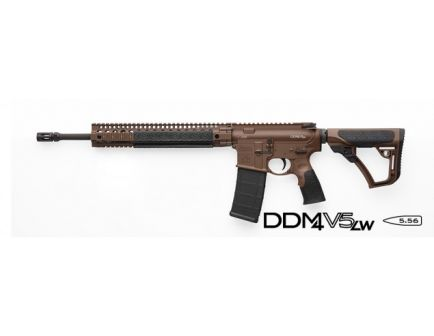 DISC    Daniel Defense Rifle DD M4V5 LW Milspec Plus Brown Cerakote - - 02-123-13028-047