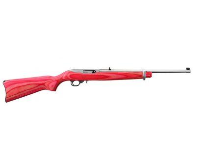 Ruger 10/22 SS Pink Laminate Stock .22lr 1185