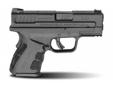 "Springfield Armory Pistol XD MOD.2 Sub Compact 3.3"" 45acp Black XDG9845BHC"