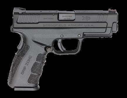 """Springfield Armory Pistol XD MOD.2 4"""" .40S&W Black XDG9102HC"""