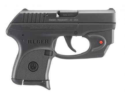 Ruger LCP 380 ACP Pistol with Red Laser