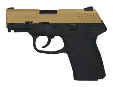 Kel-Tec Pistol PF9 Tan Cerakote, Black Grip Pistol PF9TANBLK