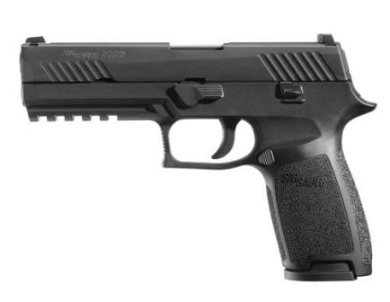Sig Sauer Pistol P320 Fullsize .45acp Black Contrast Sights 320F-45-B