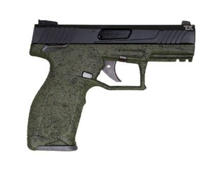 Taurus TX22 Full .22lr Pistol, Green Splatter Black - 1-TX22141SP2