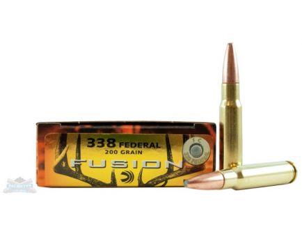 Federal 338 Federal 200gr Fusion Ammunition 20rds - F338FFS2