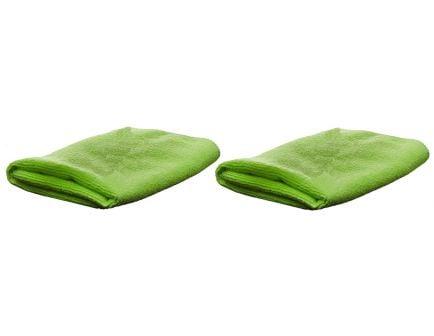 "Breakthrough Clean Technologies Nylon/Polyester Micro Fiber Cloth, 14"" x 14"", 2/pack - BT-MFT-2PK"