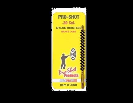 Pro-Shot .20 Cal. Nylon Rifle Brush - 20NR
