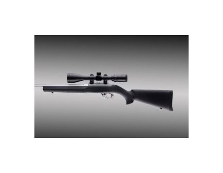 Hogue Grips 10-22 Rubber Over-molded Stock with Standard Barrel Channel Black 22000