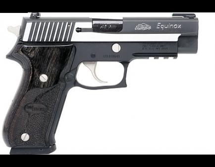 Sig Sauer P220 .45 ACP Equinox 220R-45-EQ