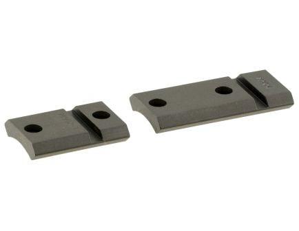 Leupold QRW Weatherby Mark V Centerfire Steel Cross-Slot 2-Piece Scope Base, Matte Black - 171709
