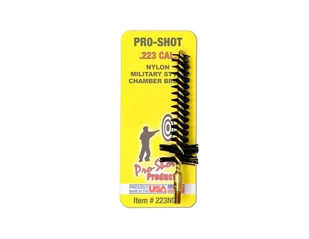 Pro-Shot .223 Cal./5.56mm Military Style Nylon Chamber Brush 223NCH