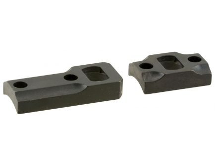 Leupold Ruger American Steel Double Dovetail 2-Piece Scope Base, Matte Black - 171901