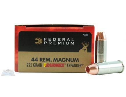 Federal .44 Mag 225gr Barnes Expander 20 Rounds Ammunition - P44XB1