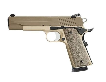 "Sig Sauer 1911 .45 ACP 5"" Pistol, Cerakote Two-Tone Desert Tan"